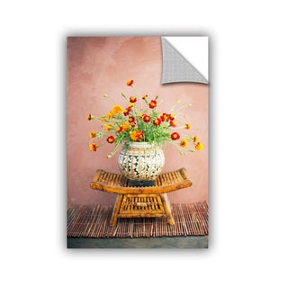 ArtWall Elena Ray ' Asian Floral ' Art Appeals Removable Wall Art