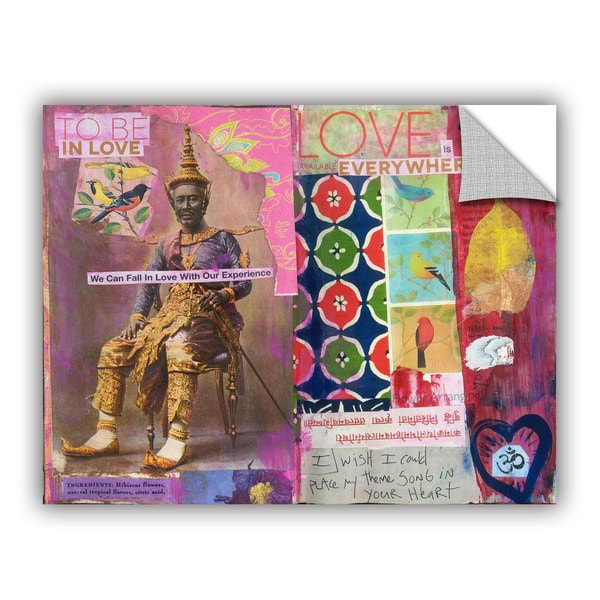 ArtWall Elena Ray  ' Art Journal Love Is ' Art Appeals Removable Wall Art