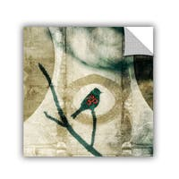 ArtWall Elena Ray  ' Yoga Bird  ' Art Appeals Removable Wall Art