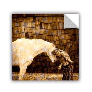 ArtWall Elena Ray ' Horse Whisperer ' Art Appeals Removable Wall Art