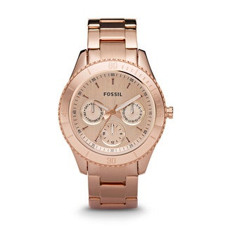 Fossil Ladies Rose Gold  Stella Watch