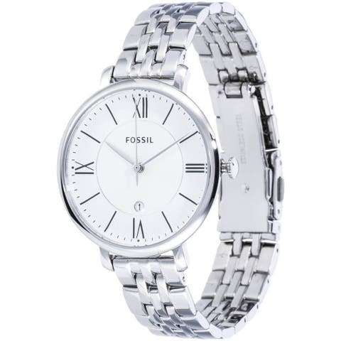 Fossil Ladies Steel Bracelet & Case Mineral Watch