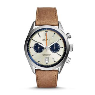 Fossil Men's CH2952 Del Rey Chronograph Leather Brown Watch|https://ak1.ostkcdn.com/images/products/10220311/P17341860.jpg?impolicy=medium