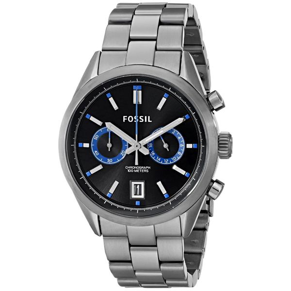 Fossil Men's CH2970 Del Rey Chronograph Stainless Steel Watch
