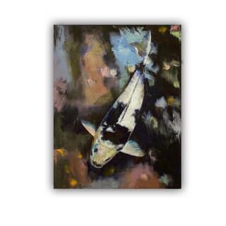 ArtWall Michael Creese ' Utsuri Koi Reflections ' Art Appeals Removable Wall Art