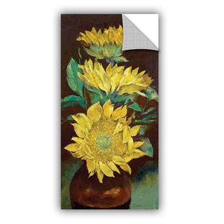 ArtWall Michael Creese ' Sunflowers ' Art Appeals Removable Wall Art