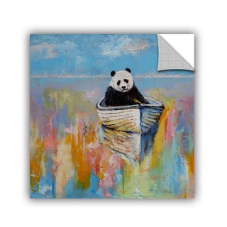 ArtWall Michael Creese ' Panda ' Art Appeals Removable Wall Art