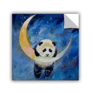 ArtWall Michael Creese ' Panda Stars ' Art Appeals Removable Wall Art