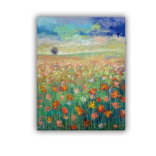 ArtWall Michael Creese ' Dancing Poppies ' Art Appealz Removable Wall Art