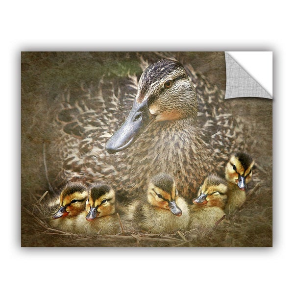 Antonio Raggio 'Baby Ducks' Art Appealz Removable Wall Art