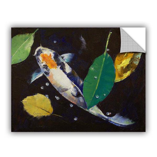 Artwall michael creese 39 kumonryu koi 39 art appealz for Kumonryu koi for sale