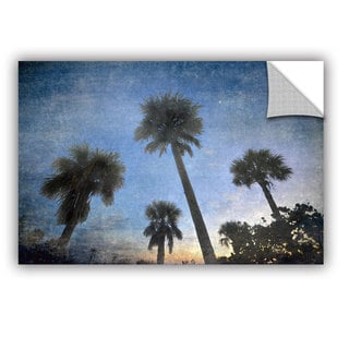 Antonio Raggio 'Palms At Sunset' Art Appealz Removable Wall Art
