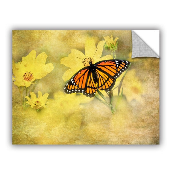 Antonio Raggio 'Butterfly' Art Appealz Removable Wall Art - Multi