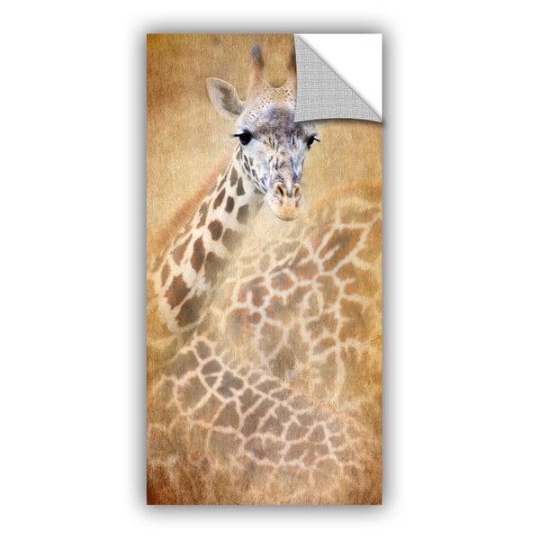 Antonio Raggio 'Giraffe' Art Appealz Removable Wall Art - Multi