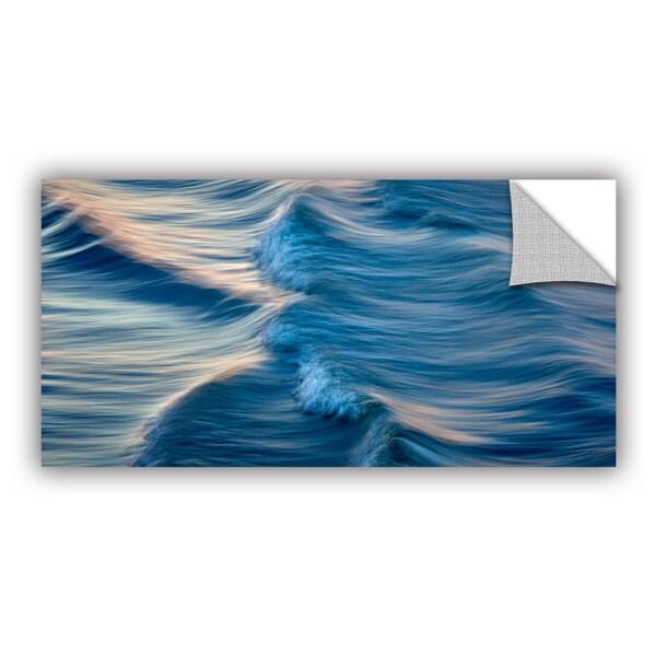 Antonio Raggio 'Rolling Waves' Art Appealz Removable Wall Art - Multi