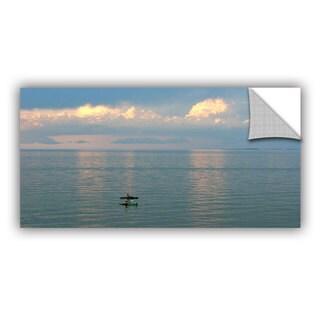 Antonio Raggio 'Calm Kayaks' Art Appealz Removable Wall Art