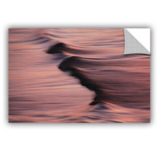 Antonio Raggio 'Waves And Sunset' Art Appealz Removable Wall Art (3 options available)