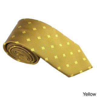 Elie Balleh Milano Italy EBNT1240 Microfiber Diamond Neck Tie