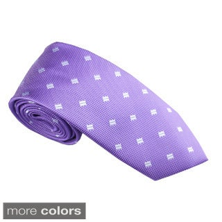 Elie Balleh Milano Italy EBNT1240 Microfiber Diamond Neck Tie (4 options available)