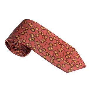 Elie Balleh Milano Italy EBNT1606 Microfiber Floral Neck Tie