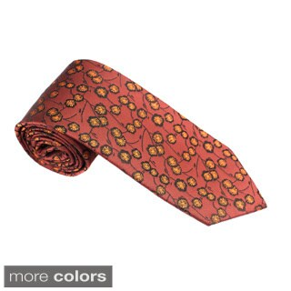 Elie Balleh Milano Italy EBNT1606 Microfiber Floral Neck Tie (More options available)