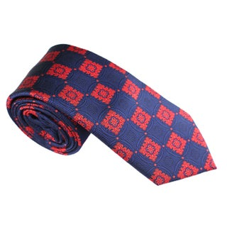 Elie Balleh Milano Italy EBNT1824 Microfiber Plaid Neck Tie (5 options available)