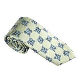 Elie Balleh Milano Italy EBNT1824 Microfiber Plaid Neck Tie
