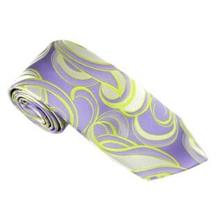 Elie Balleh Milano Italy EBNT18318 Microfiber Geometric Neck Tie (More options available)