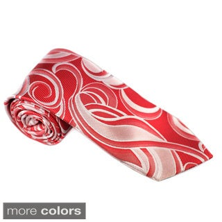 Elie Balleh Milano Italy EBNT18318 Microfiber Geometric Neck Tie (More options available)