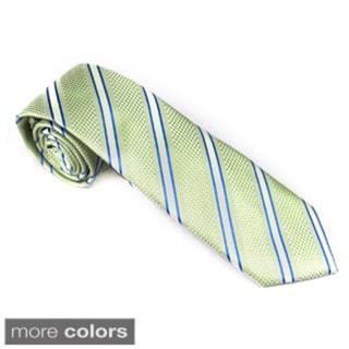 Elie Balleh Milano Italy EBNT19103 Microfiber Striped Neck Tie