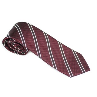 Elie Balleh Milano Italy EBNT19103 Microfiber Striped Neck Tie (4 options available)