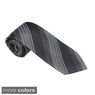 Elie Balleh Milano Italy EBNT3997 Microfiber Striped Neck Tie|https://ak1.ostkcdn.com/images/products/10220664/P17342144.jpg?impolicy=medium