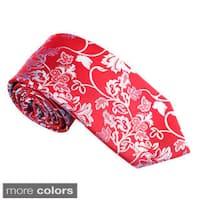 "Elie Balleh Milano Italy EBNT609 Microfiber Floral Neck Tie - 3""w x 58""l"