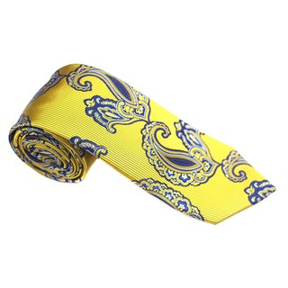 Elie Balleh Milano Italy EBNT898 Microfiber Paisley Neck Tie