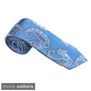 Elie Balleh Milano Italy EBNT898 Microfiber Paisley Neck Tie (2 options available)