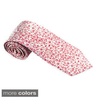Elie Balleh Milano Italy EBNT1019 Microfiber Floral Neck Tie (4 options available)