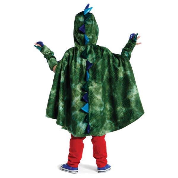 Great Pretenders Medium Green Dragon Cape with Claws