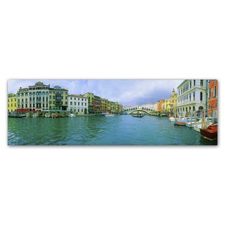 John Xiong 'Venice Waterways' Canvas Art