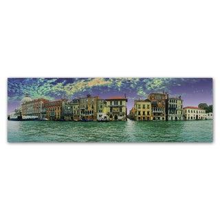 John Xiong 'Buildings of Venice' Canvas Art