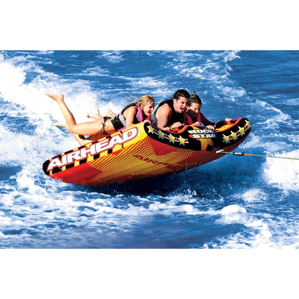 Inflatable Airhead Rock Star Water Tube