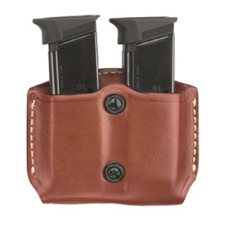 G&G Chestnut Brown Double Magazine Case For Beretta