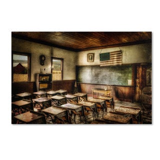 Lois Bryan 'One Room School' Canvas Art