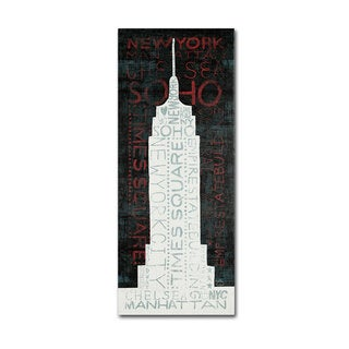 Michael Mullan 'Empire State Building' Canvas Art