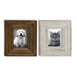 UMA Wood Photo Frame (Assortment of 2)
