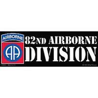 82nd Airborne Division Bumper Sticker