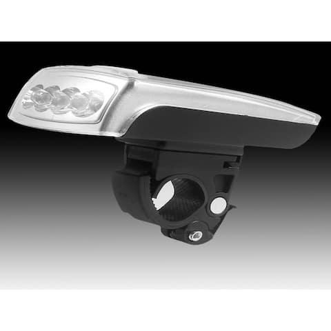 4 LED Solar Rechargeable Headlight