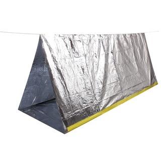 Silver Folding Survival Lightweight Blankets (Set of 2)