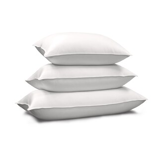 Hotel Grand 1000 Thread Count Egyptian Cotton Siberian White Down Pillow (3 options available)