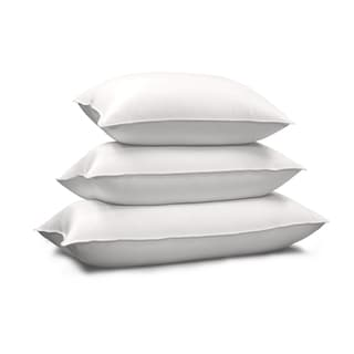Link to Hotel Grand 1000 Thread Count Pima Cotton Siberian White Down Pillow Similar Items in Pillows