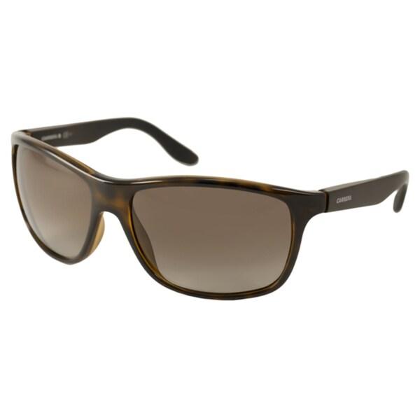 0c27dd1e87 Shop Carrera Carrera 8001 Men s Polarized  Wrap Sunglasses - Free ...
